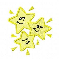 Broderie étoile 1