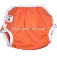 Babig culotte pressions PUL orange