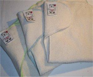 Le stock - Couche lavable contour éponge coton bio