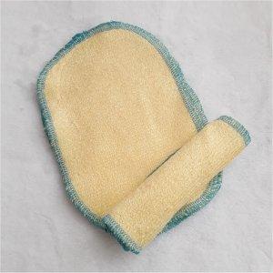 Le stock 5 lingettes lavables coton roi micro polaire blanc écru