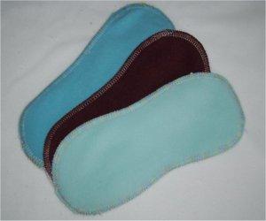 Protège-slip lavable sans ailettes micro polaire/PUL/bambou
