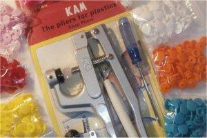 Pince Kam sous blister + accessoires