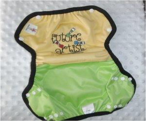Culotte de protection TS Pul lime broderie lézard