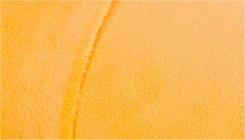 Tissu doudou pilou jaune