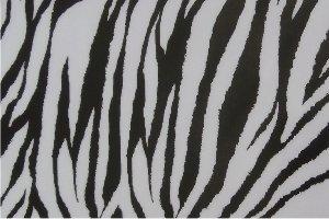 Flex thermocollant Zebre blanc noir
