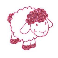 Appliqué Flex mouton 10x10.5 cm