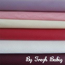 6 coupons Simili cuir 20 x 25 cm TON4 lilas, rose, ivoire, fuschia, blanc, prune