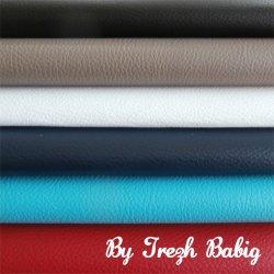 6 coupons Simili cuir 20 x 25 cm TON6 noir, taupe, blanc, marine, turquoise, rouge