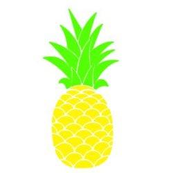 Appliqué Flex ananas 1 / 10 cm