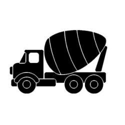 Appliqué Flex véhicule tracteur 2 / 12 cm