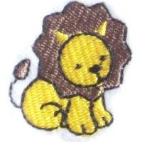 Appliqué Broderie Lion Mini