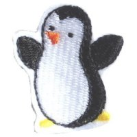Appliqué Broderie Pinguin Mini