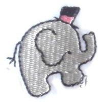 Appliqué Broderie Eléphant Mini