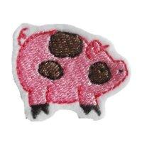 Appliqué Broderie Cochon Mini