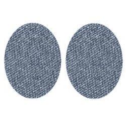 Appliqué flex Coudières 1 paire simple / 12 cm