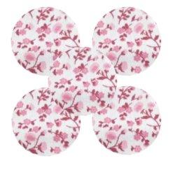 Bouton tissu à coudre Fleurs REF13
