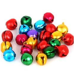 Grelots boule couleur 10 mm (Lot5)