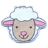 Broderie fil tête mouton 1