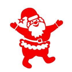 Appliqué Flex Père Noël 1 / 10 cm