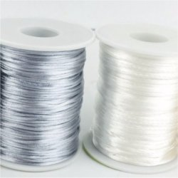 Fil cordon 100% nylon 1 mm au mètre