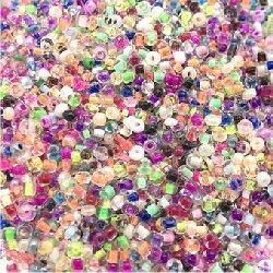 Perle rocaille verre 2 mm au sachet