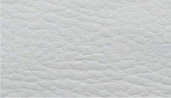 Tissu simili cuir blanc