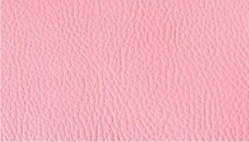 Tissu simili cuir rose