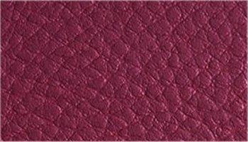 Tissu simili cuir prune