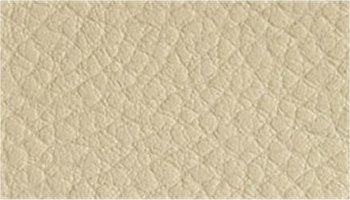 Tissu simili cuir ivoire