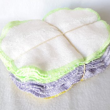 Vente Flash - 30 Lingettes lavables patchwork 2