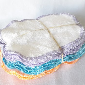 Vente Flash - 30 Lingettes lavables patchwork 3