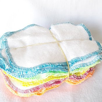 Vente Flash - 25 Lingettes lavables patchwork 4