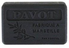 Savon de marseille 125 gr Pavot