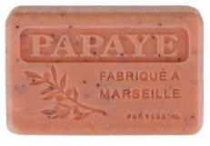 Savon de marseille 125 gr Papaye